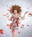 Милла Йовович на одной из страниц календаря Campari
