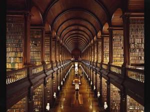 Библиотека Тринити Колледжа, Дублин
