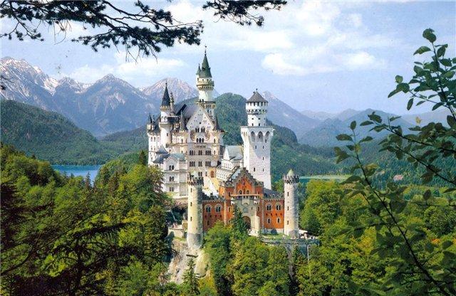 Лебединый замок Нойшванштайн, Германия
