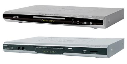 Golder Electronics представляет новые DVD-плееры Vitek
