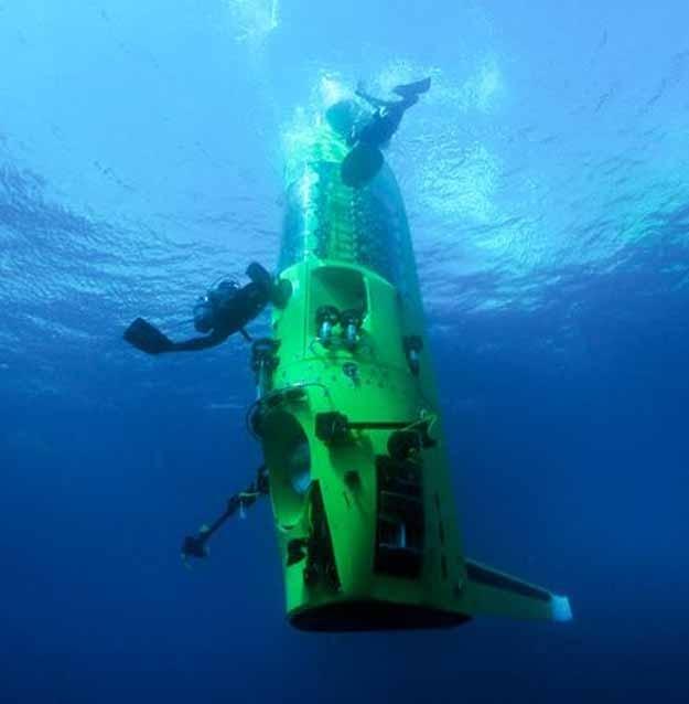 Джеймс Кэмерон достиг самой глубокой точки океана