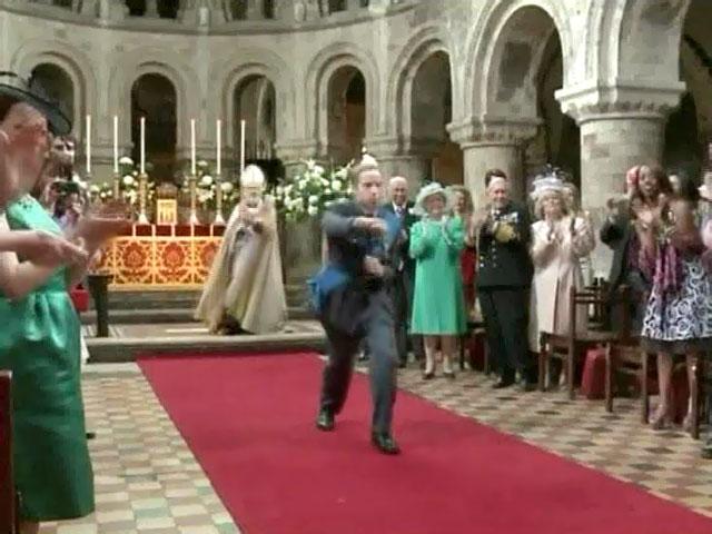 В YouTube появилась история знакомства принца Уильяма и Кейт Миддлтон