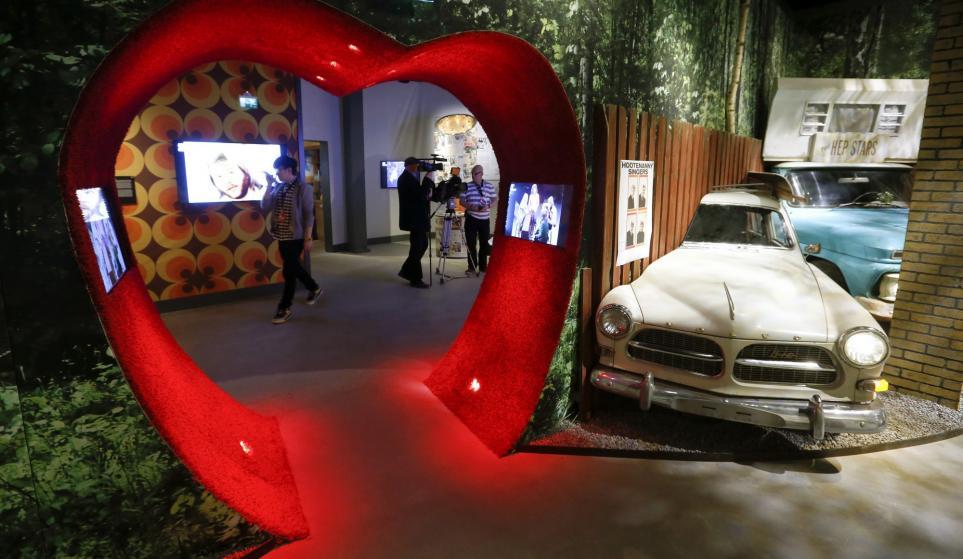В Стокгольме распахнул двери музей легендарной группы ABBA. Фото: REUTERS/Arnd Wiegmann/Scanpix