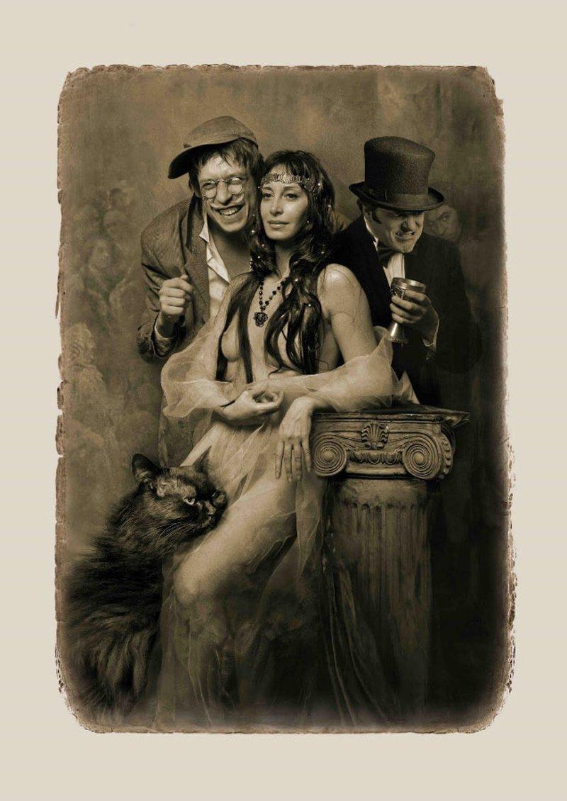 Фотоиллюстрации к «Мастеру и Маргарите» Елены Мартынюк