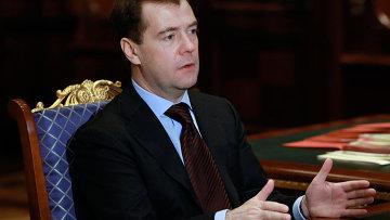 Президент РФ Дмитрий Медведев.
