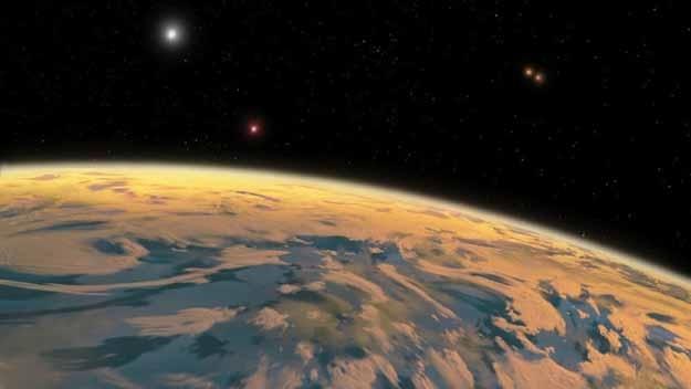 Открыта планета четырех солнц